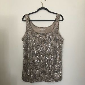 3/$12   Old Navy Sequin Tank